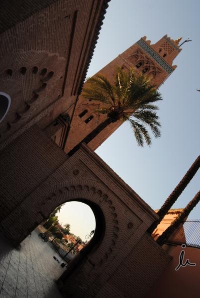 Mezquita Koutobia y su alminar Marrakech