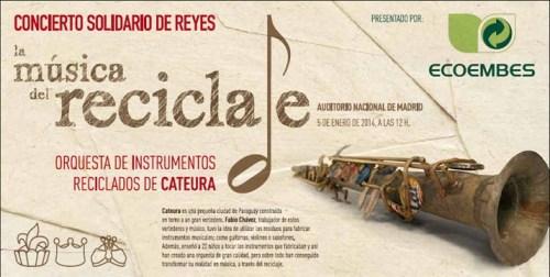 Ecoembes organiza concierto instrumentos reciclados Cateura
