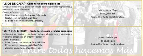 Semana del Corto de la CC Madrid en Espacio Pozas