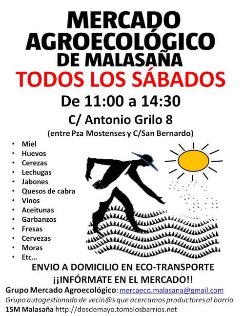 Mercado Agroecologico Malasaña