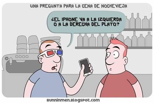 iphone derecha o izquierda