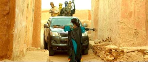 Timbuktu Peli escena yihadistas