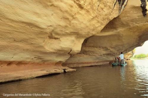 Gargantas del río Manambolo Foto de Sylvia Pallarès