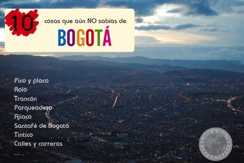 10 cosas que aun no conocias de Bogota